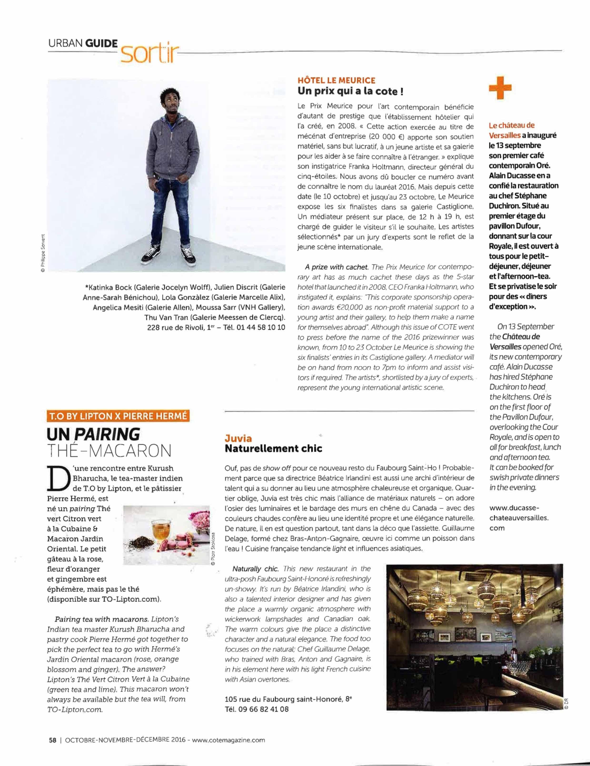 JUVIA COTE MAGAZINE 17-2